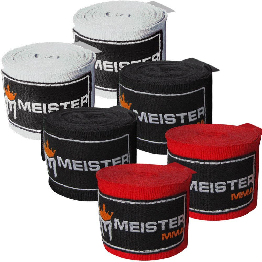 "Meister 180"" Hand Wraps for Boxing and MMA"