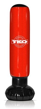 TKO Inflatable Punching Bag Tower with Pump