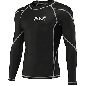 Hawk Sports No-Gi Full Long Sleeve Rashguard
