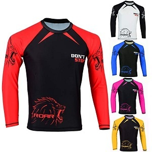 ROAR Long Sleeve BJJ & MMA Rash Guard