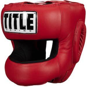 Title Face Protector Training Headgear